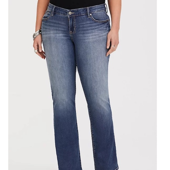Torrid Relaxed Boot Jean Vintage Stretch